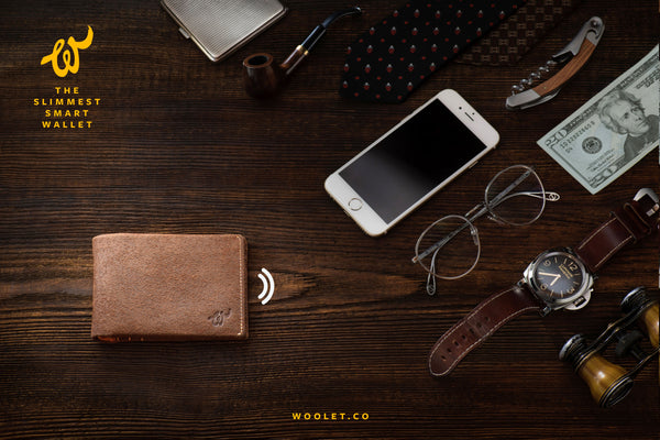 Woolet Smart wallet for modern man