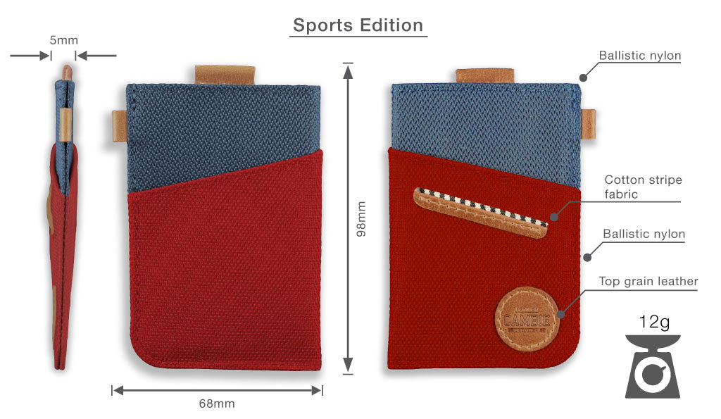 Wolyt Sleeve Sports Edition Dimensions, Specifications and Materials