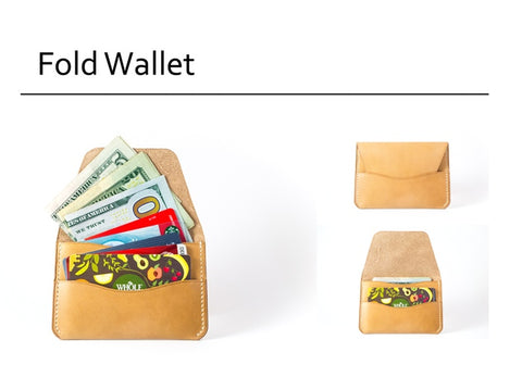 Fides Fold Leather Wallet