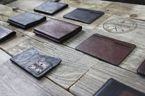 Bronxton Wallets full Range