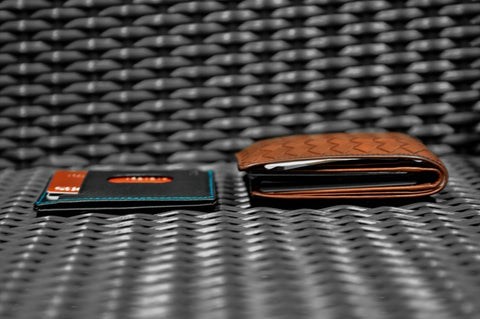 Haru Wallet compared to Leather Bi-fold wallet