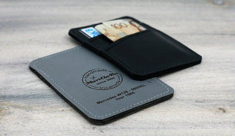 Detroit Stash Black & Grey Wallets