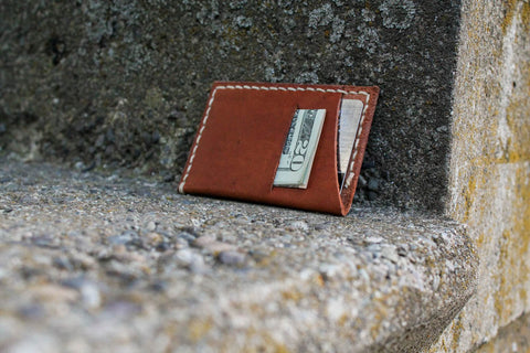 Mens range leather wallet