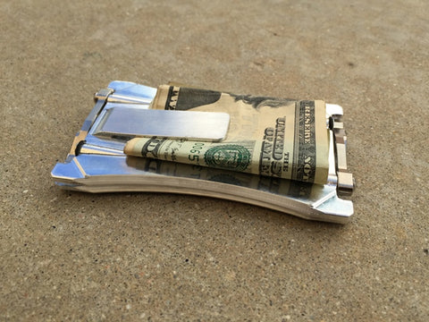 Orion One Aluminium Wallet with money Clip