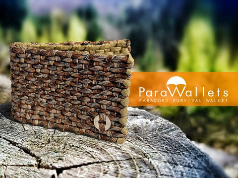 ParaWallet paracord survival wallet