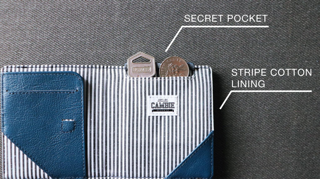Secret Pocket on FLIP Wolyt