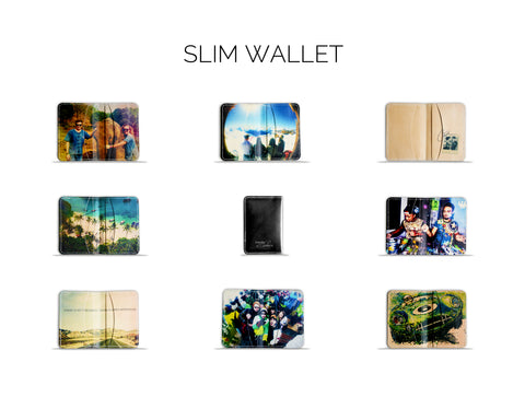 Isolana Slim Wallet with customisable printing