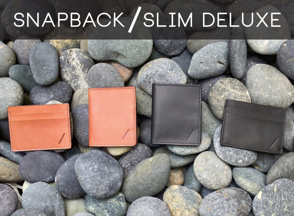 Snapback Slim Deluxe Leather Wallets