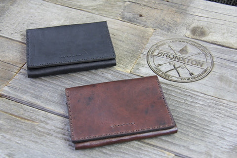 The Bronxton Tri-Fold Wallet