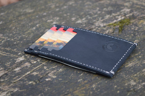 Ben's Cottage Leather Card Case