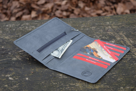 Ben's Cottage Leather Wallet