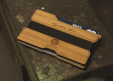 Sapling Series Bamboo Wood Wallet
