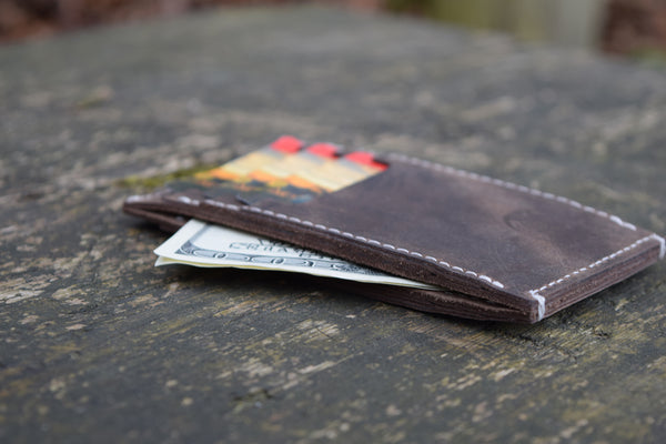 Ben's Cottage Vintage Leather Wallet