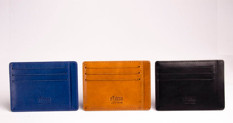 Axess Wallet colour options
