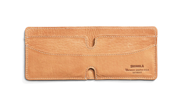 Authentic American Leather Wallet from Shinola