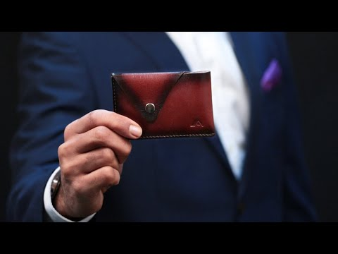 Wallet - Tsuki Leather Business Card Holder