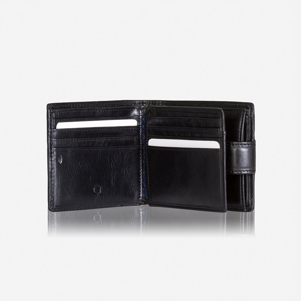 Wallet - Bifold Wallet With Coin And Tab Closure