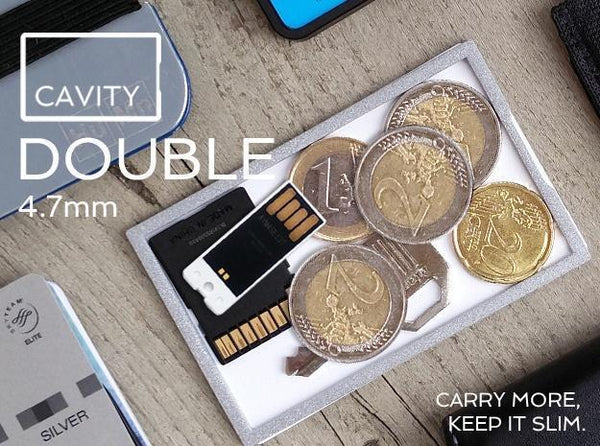 Wallet - Cavity Card Double