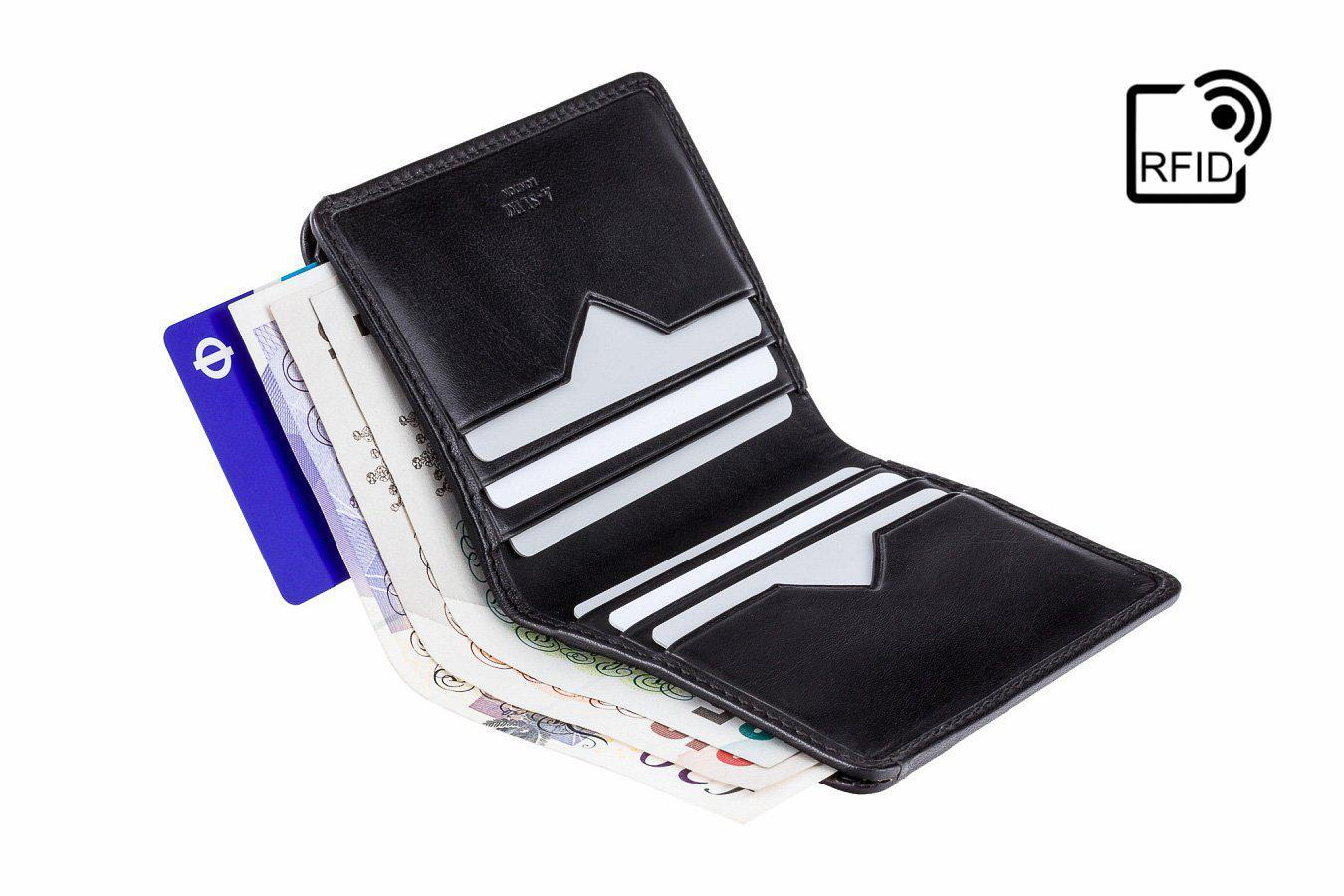Wallet - Chikara Tap 'n' Go RFID Leather Wallet