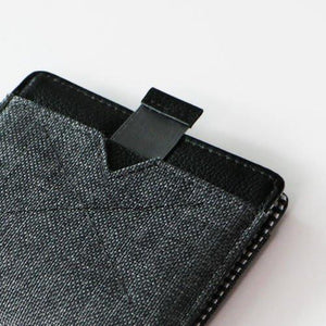 Wallet - FLIP WOLYT™ - Heather Black RFID
