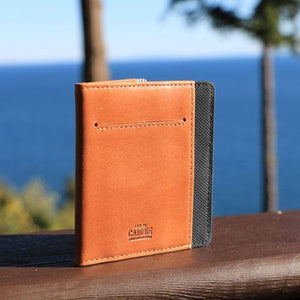 Wallet - FLIP WOLYT™ - Tan/Black RFID
