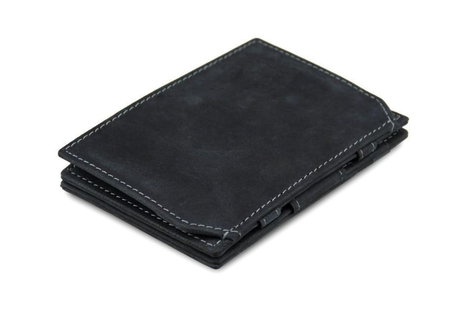 Wallet - Garzini Essenziale Magic Coin Wallet - Carbon Black
