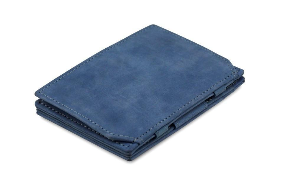 Wallet - Garzini Essenziale Magic Coin Wallet - Sapphire Blue