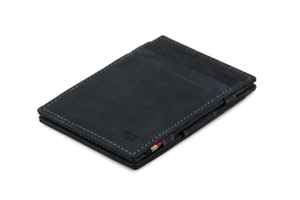 Wallet - Garzini Essenziale Magic Wallet - Carbon Black