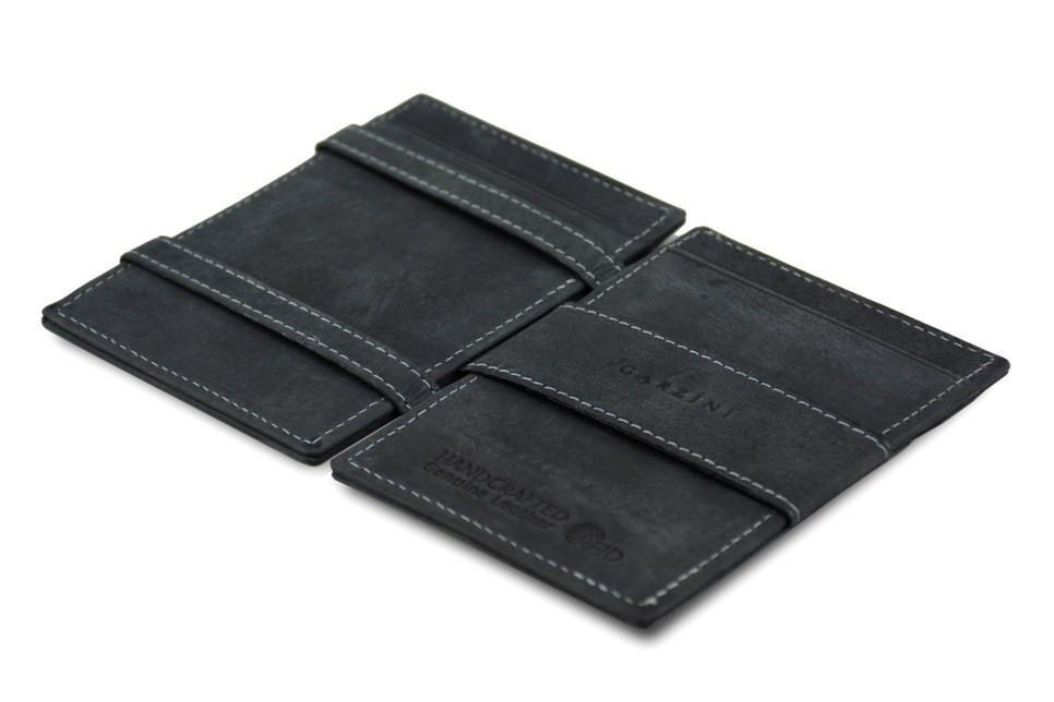 Wallet - Garzini Essenziale Magic Wallet ID Window - Carbon Black