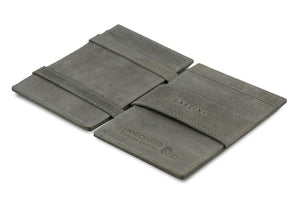 Wallet - Garzini Essenziale Magic Wallet ID Window - Metal Grey