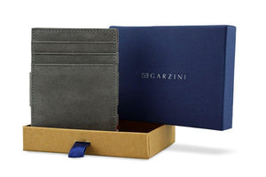 Wallet - Garzini Essenziale Magic Wallet - Metal Grey