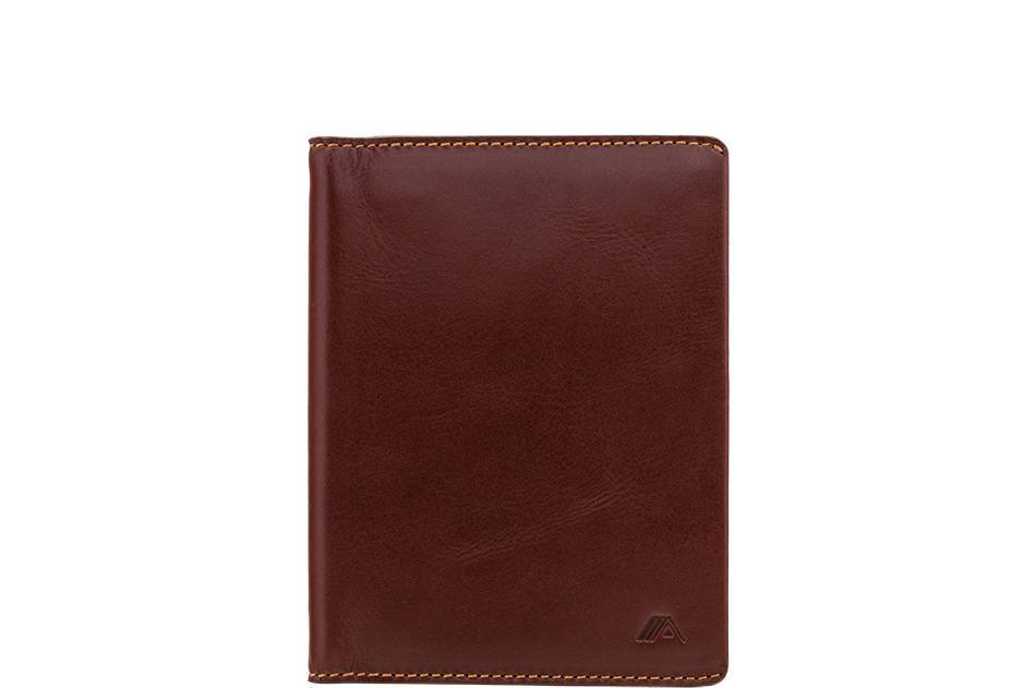 Wallet - Hoshi Leather Passport Holder Wallet