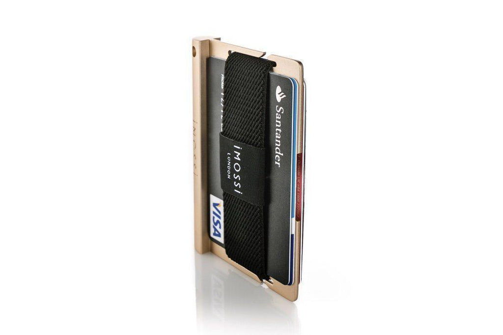 Wallet - IMOSSi N2 Metal Wallet - Gold