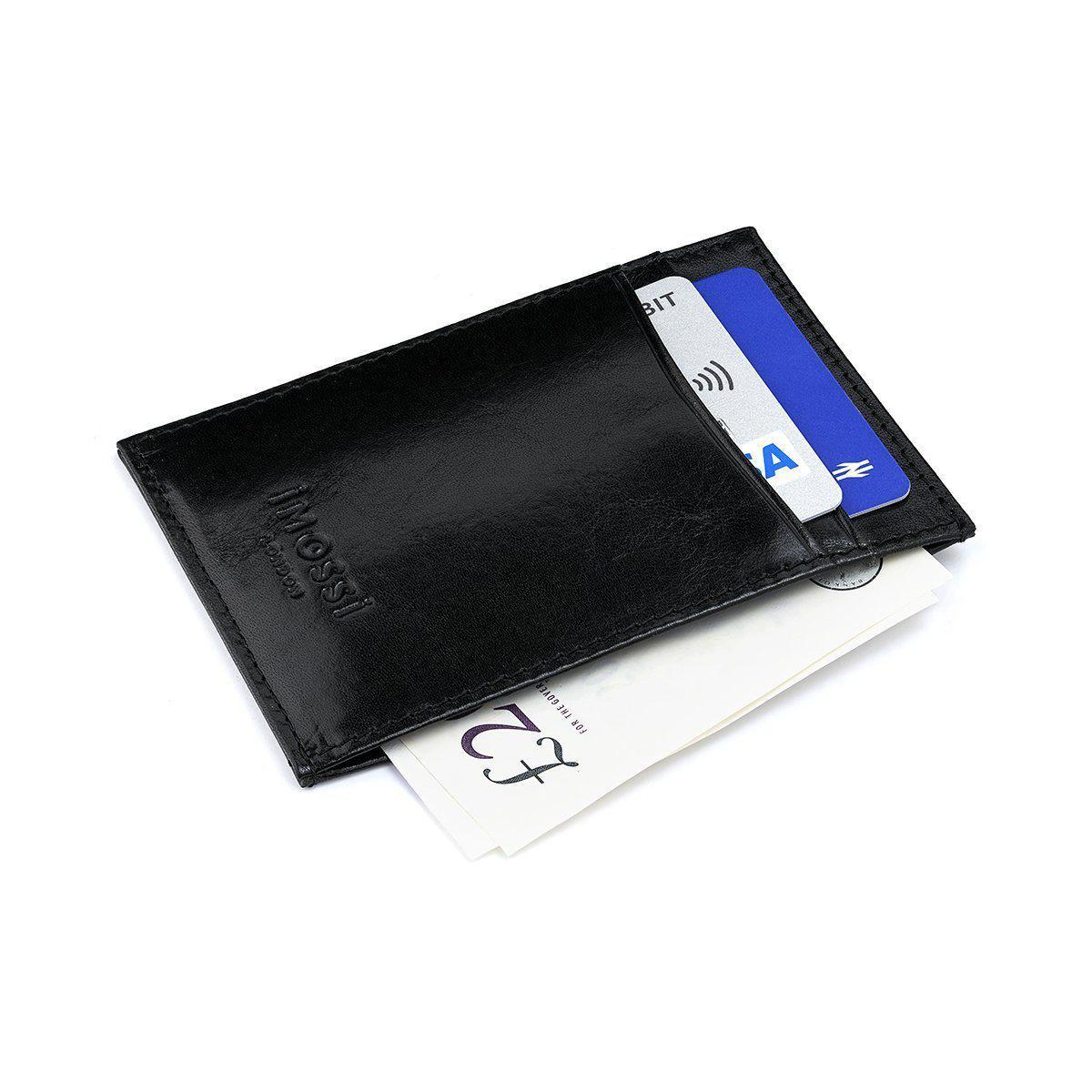 iMOSSi NW3 Leather Wallet - Black
