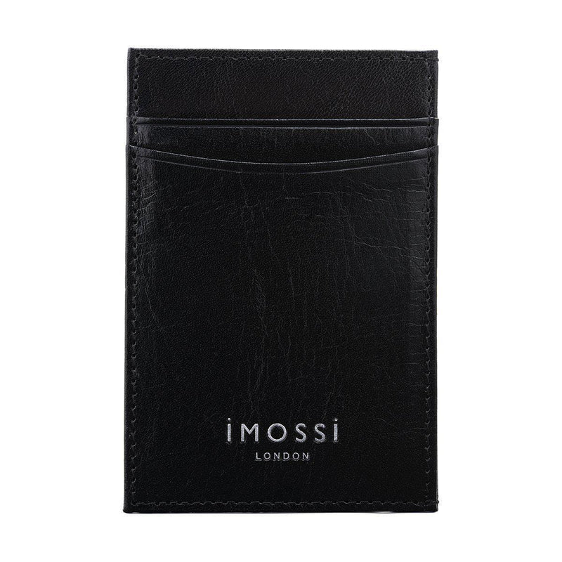 iMOSSi NW3 Leather Wallet - Silver