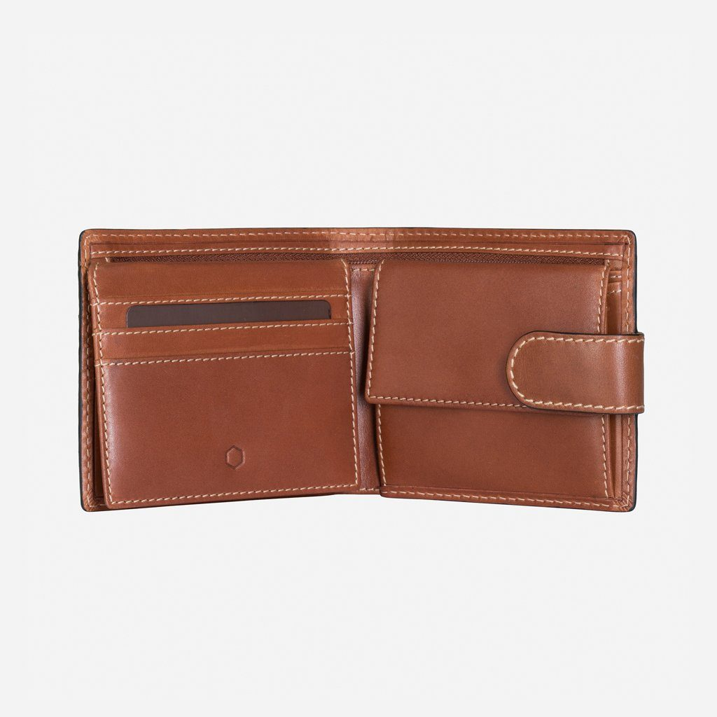 Wallet - Large Bifold Wallet With Coin