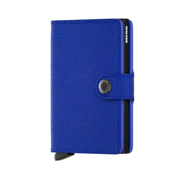 Wallet - SECRID Miniwallet Crisple Blue - Black