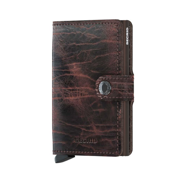 Wallet - SECRID Miniwallet Dutch Martin Cacao  - Brown
