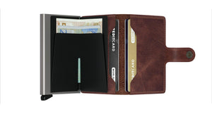 Wallet - SECRID Miniwallet Vintage Brown