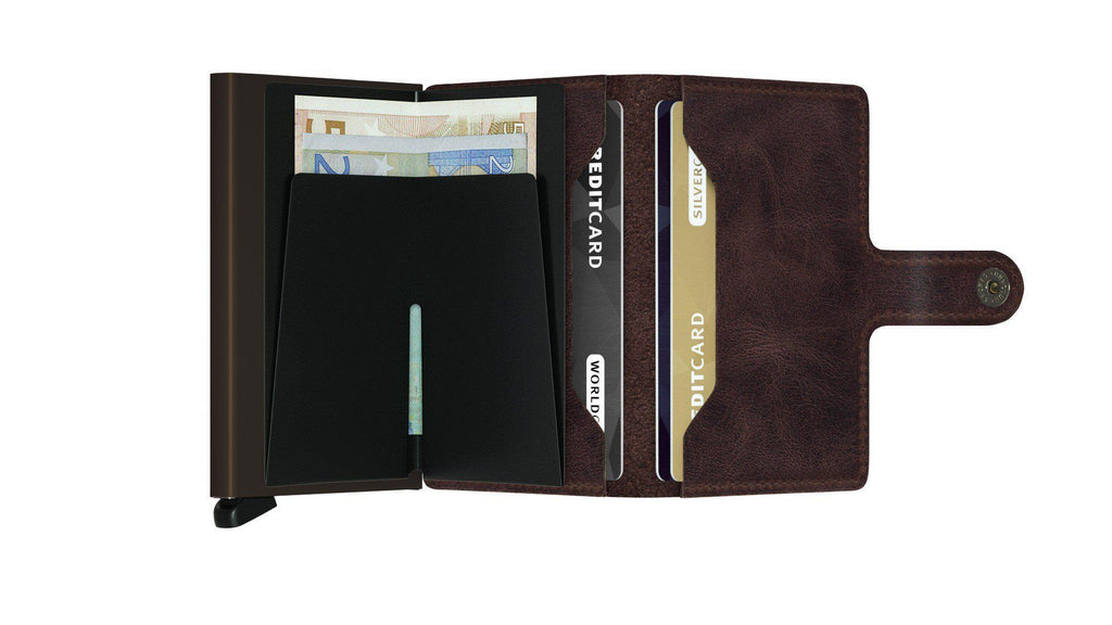 Wallet - SECRID Miniwallet Vintage Chocolate