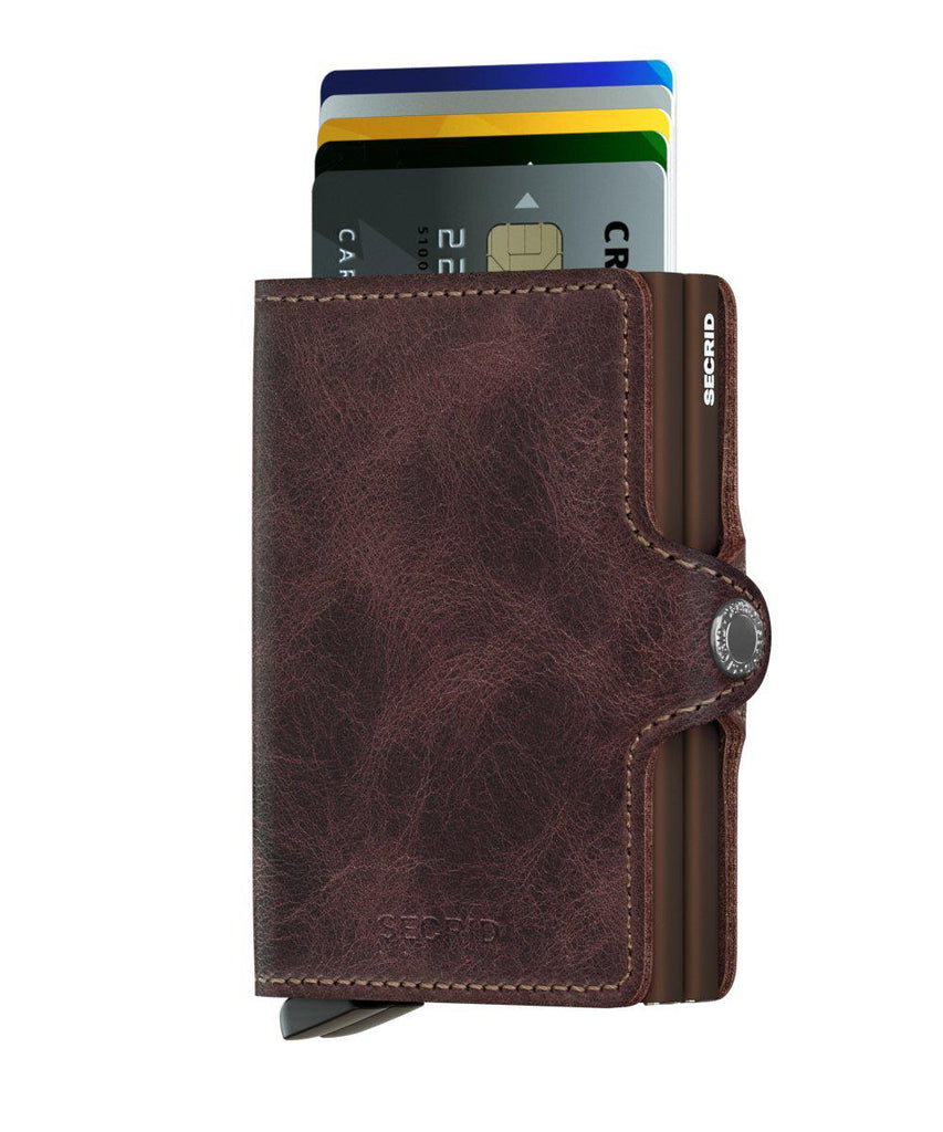 Wallet - SECRID Twinwallet Vintage Chocolate