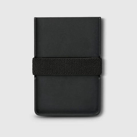 Wallet - Slim - Aluminium Black