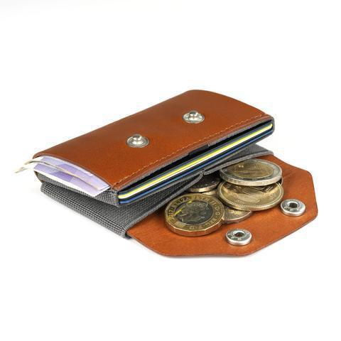 Wallet - TROVE Coin Caddy: Leather