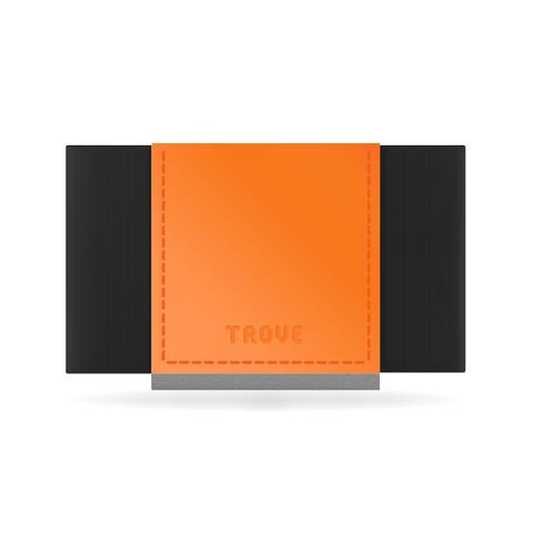 Wallet - TROVE Reflex: Orange Fluro