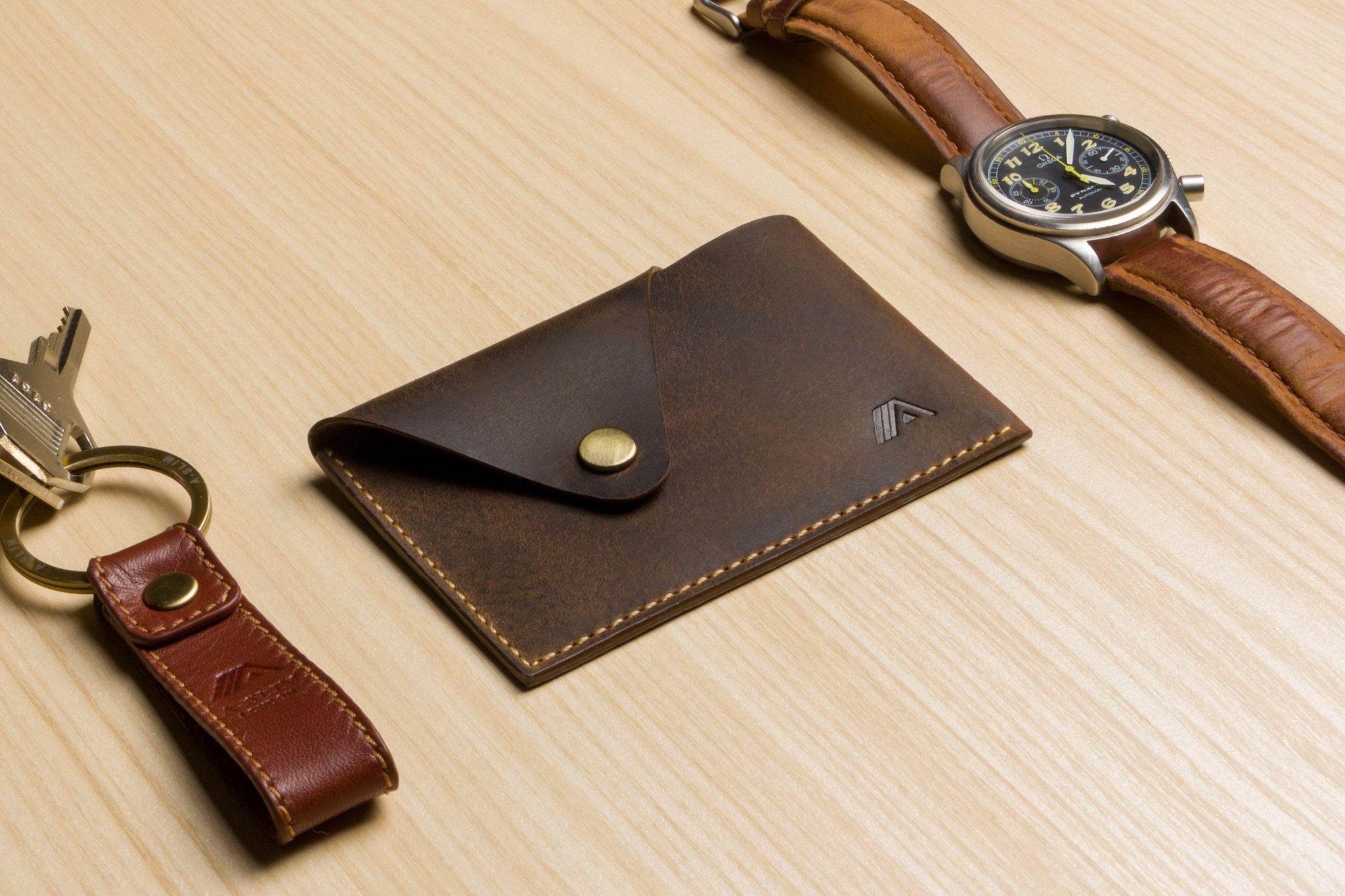Tsuki leather business card holder slim wallet junkie wallet tsuki leather business card holder reheart Image collections