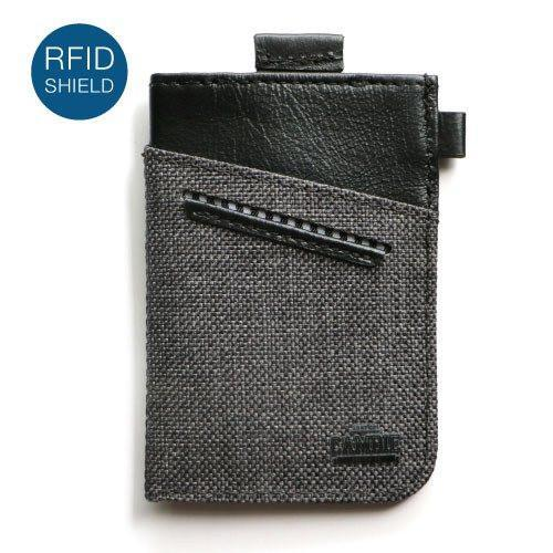 Wallet - WOLYT™ Sleeve RFID - Heather Black