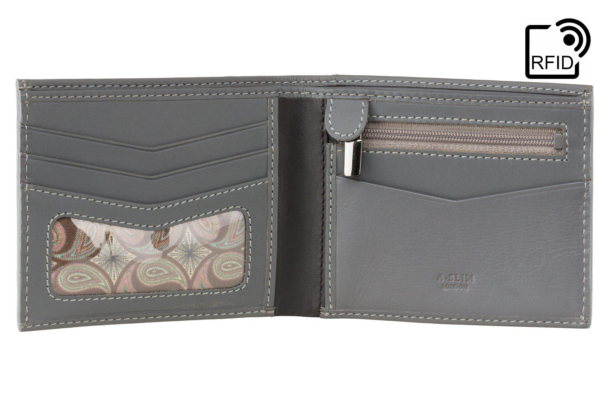 Wallet - Yugen | Cash, Coin, Card & ID Leather Wallet
