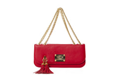 Small Shoulder & Cross Body Clutch Strawberry Red