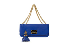 Small Shoulder & Cross Body Clutch Indigo Blue
