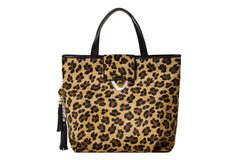 NEW ARRIVAL - Enormous Statement Tote Brown Leopard